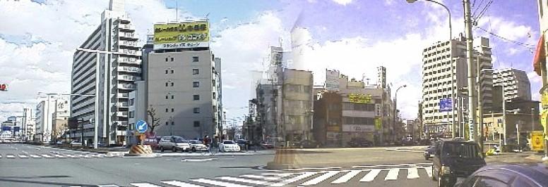 飯田街道広小路葵交差点